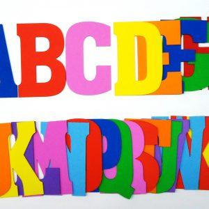 Alfabetos e Letras